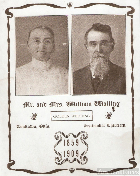 William and Sarah Walling-50th anniversay