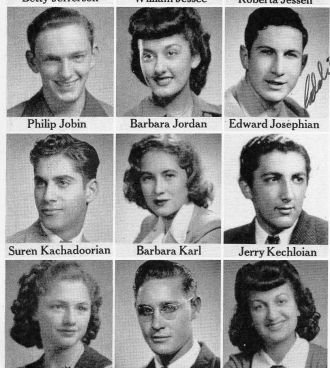 Philip Jobin, 1942 Senior Class Fresno