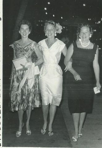 Marge Davis, Emily Coleman and Fern Poe