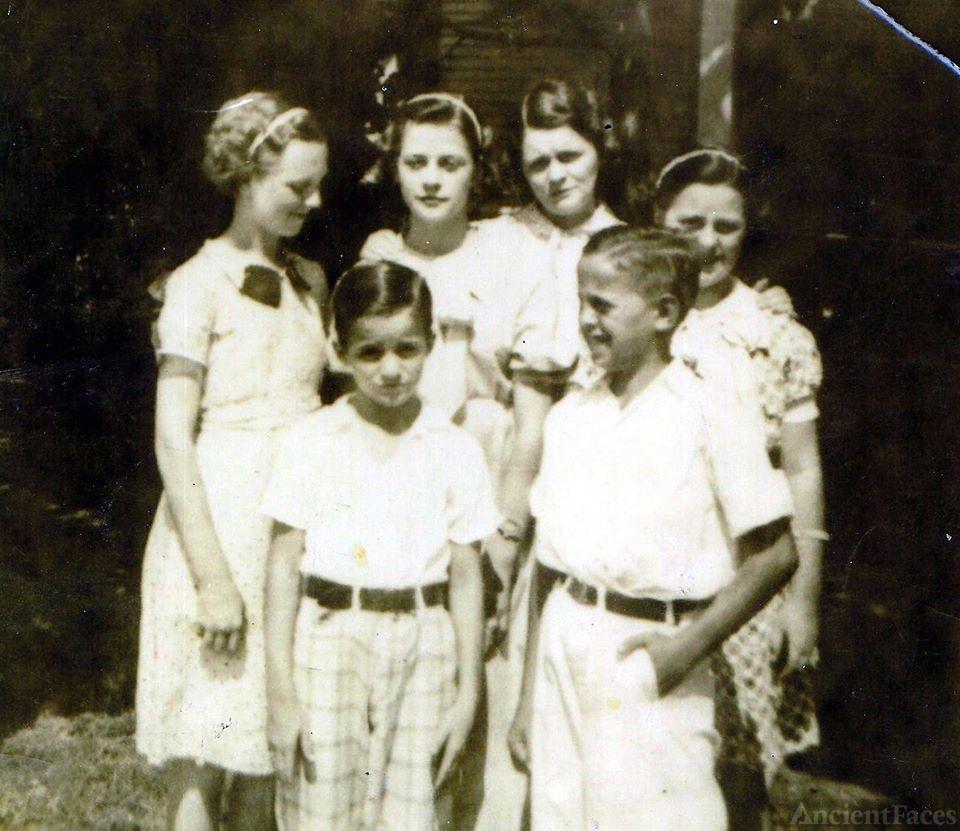 Irene May Inez (Foster) Johnson Family