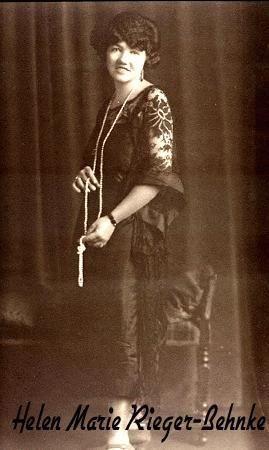 Helen Rieger, Flapper Girl