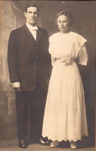 Charles McKnight and Anna Haase