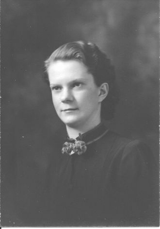 A photo of Bernice Evelyn Andrews Reiff
