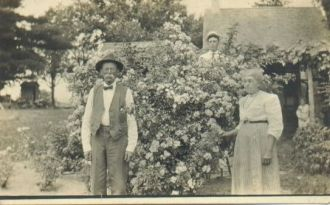 James H Sheppard, wife Florence Johnson, and son Lee Sheppard