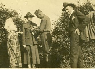 Faber Spires Sr., Lillian, Ruby Spires and Roby Bearden