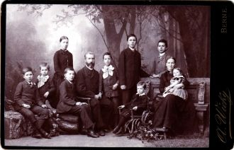 The Ernest Jakob Joss family
