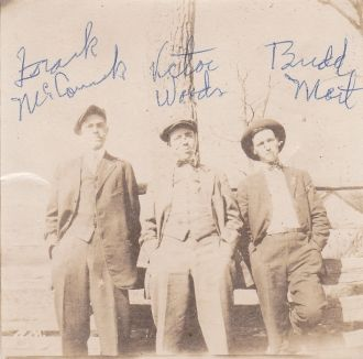 Frank McCormick, Victor Woods William Mort