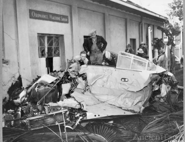 Hickam Field Ordnance Shop, December 7 1941