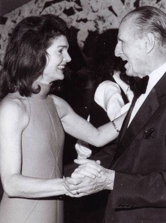 Colonel Serge Obolensky and Jackie Kennedy