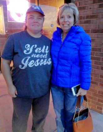 Aunt Rita and I