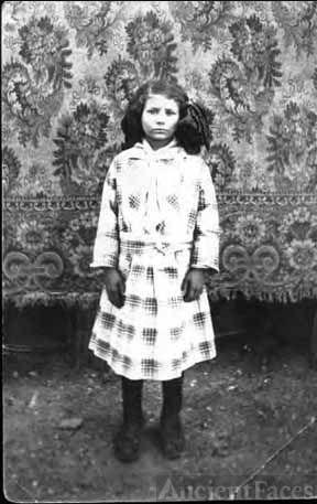 Grandmother Ethel Marie Laffoon age 8