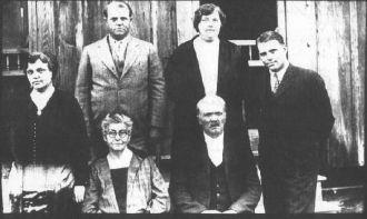 Alexander Hannah and Family