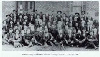 Confederate Vets of Benton County, TN