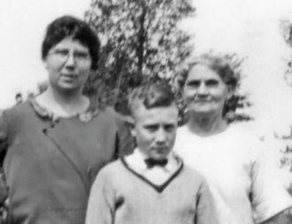 Ida & Elwin Cadwell & Rosalie Edith Fleury Cline
