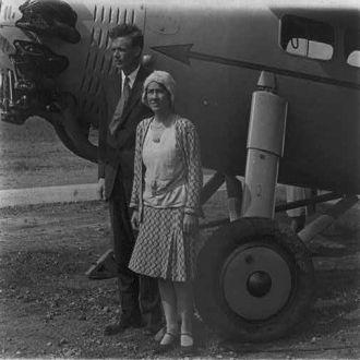 Col. and Mrs. Lindbergh