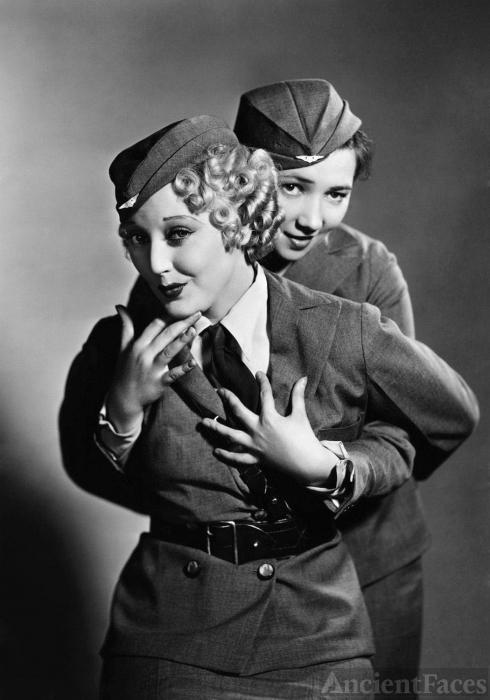 Patsy Kelly and Thelma Todd