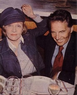Jean-Pierre Aumont and Marlene Dietrich