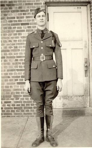 Cadet William Glen Cornwell, Iowa State U, 1937