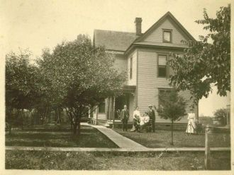 Walter Woodward home 1905