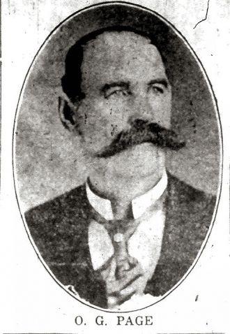 Orlando George Page, Vermont