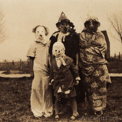 Halloween Family - Before the Adams Family