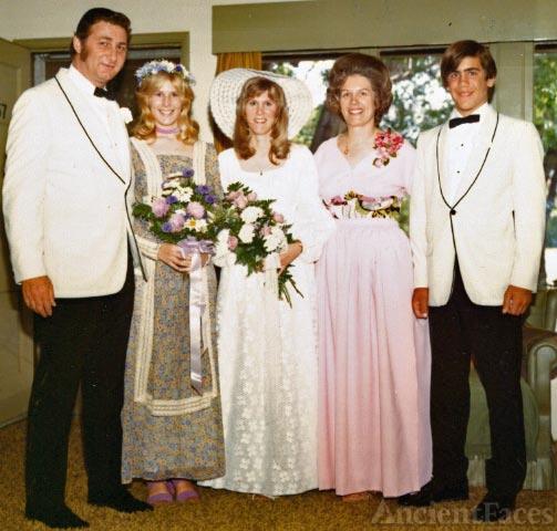 Kroetch Family Wedding Photo