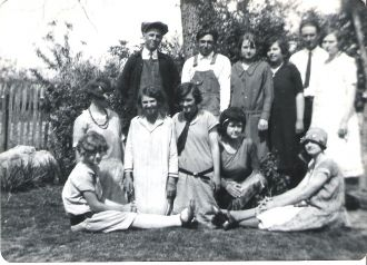 A photo of Donna C. VanBrunt (Seated)