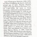 John Washington Warrick
