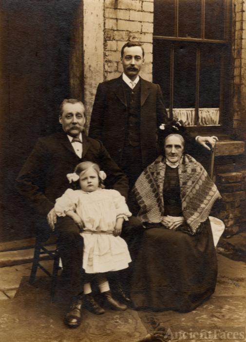 John, Thomas, Nora and Elizabeth Haworth