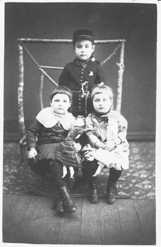John, Jessy, & Katie Avery, Wisconsin 1885