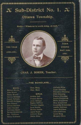 Charles J. Borer, Ohio