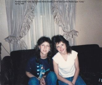Pam Tuttle and Cindy Agee