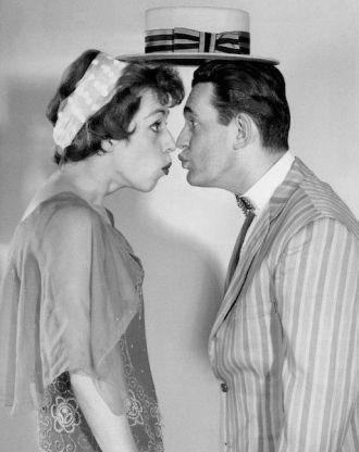 Larry Blyden and Carol Burnett