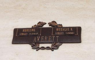 Rosalie R Averett Gravesite