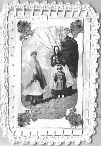 Grandma Skykes, Mrs H R Whittaker, unknown girl