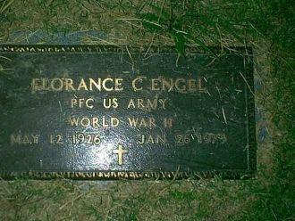 Gravesite of Florence Charles Engel