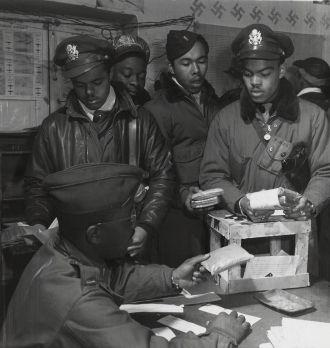 Tuskegee Airmen Fighter Pilots WW2