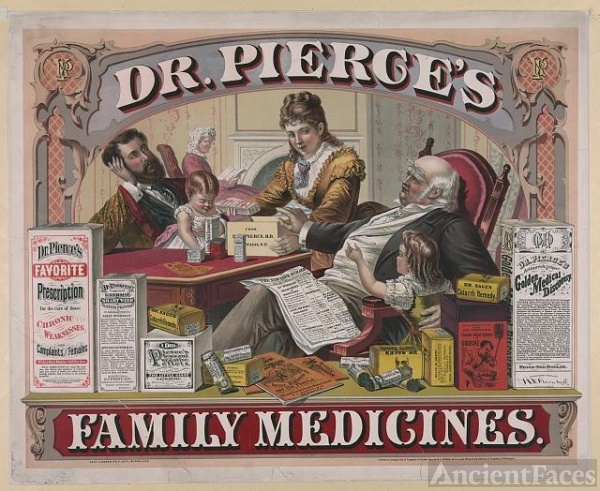 Dr. Pierce's family medicines