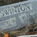Kenneth & Marjorie (Woodard) Swinton gravesite