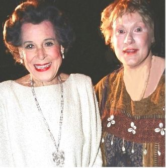 Kitty Carlisle and Tammy Grimes