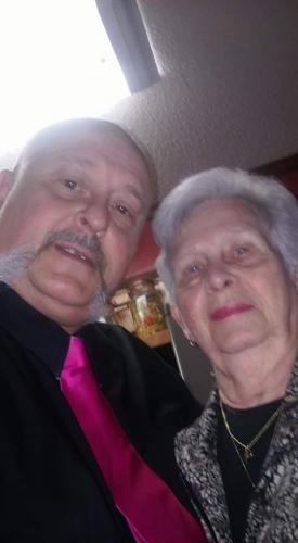 Thomas Dean Thrasher and Mom