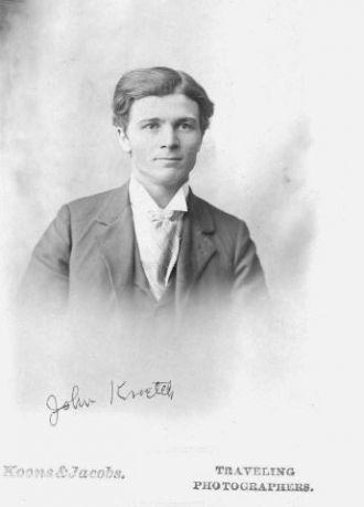 A photo of John Baptist  Kroetsch