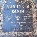 Marilyn M Klein gravesite