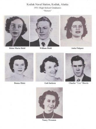 1951 Kodiak Naval High school