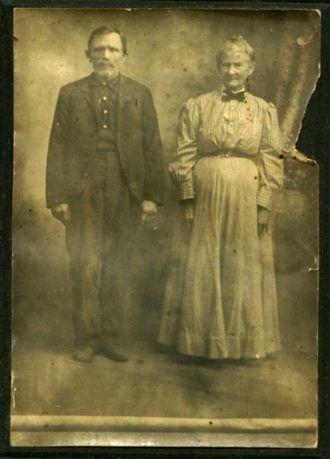 Josiah C & Hannah Jane Hickey Hatfield