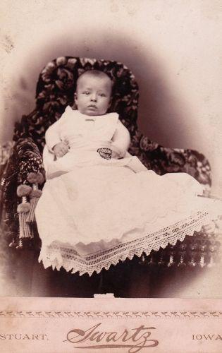 Stuart Swartz Iowa - Baby Photo