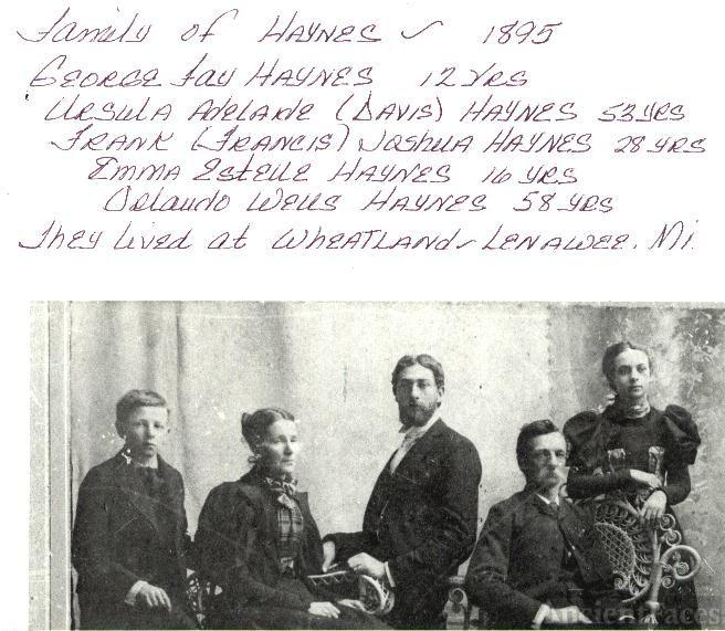 Family of Orlando Wells Haynes