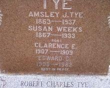 Susan Weeks Headstone