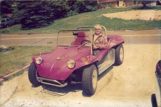 Vernon L. Sowers' dune buggy
