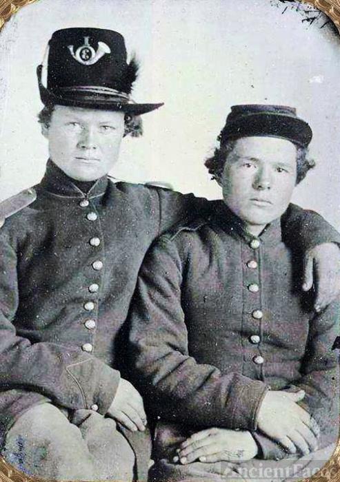 Gripman brothers, Civil War.